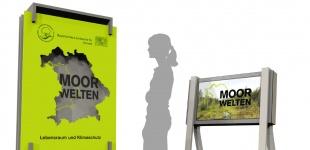 Ausstellungskonzept Moorwelten