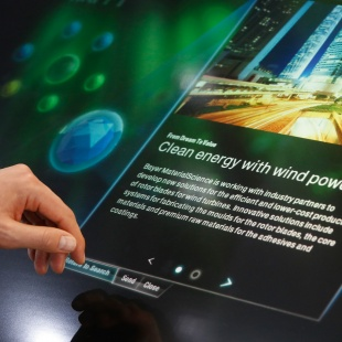 Bayer MaterialScience Dream Catcher Interface