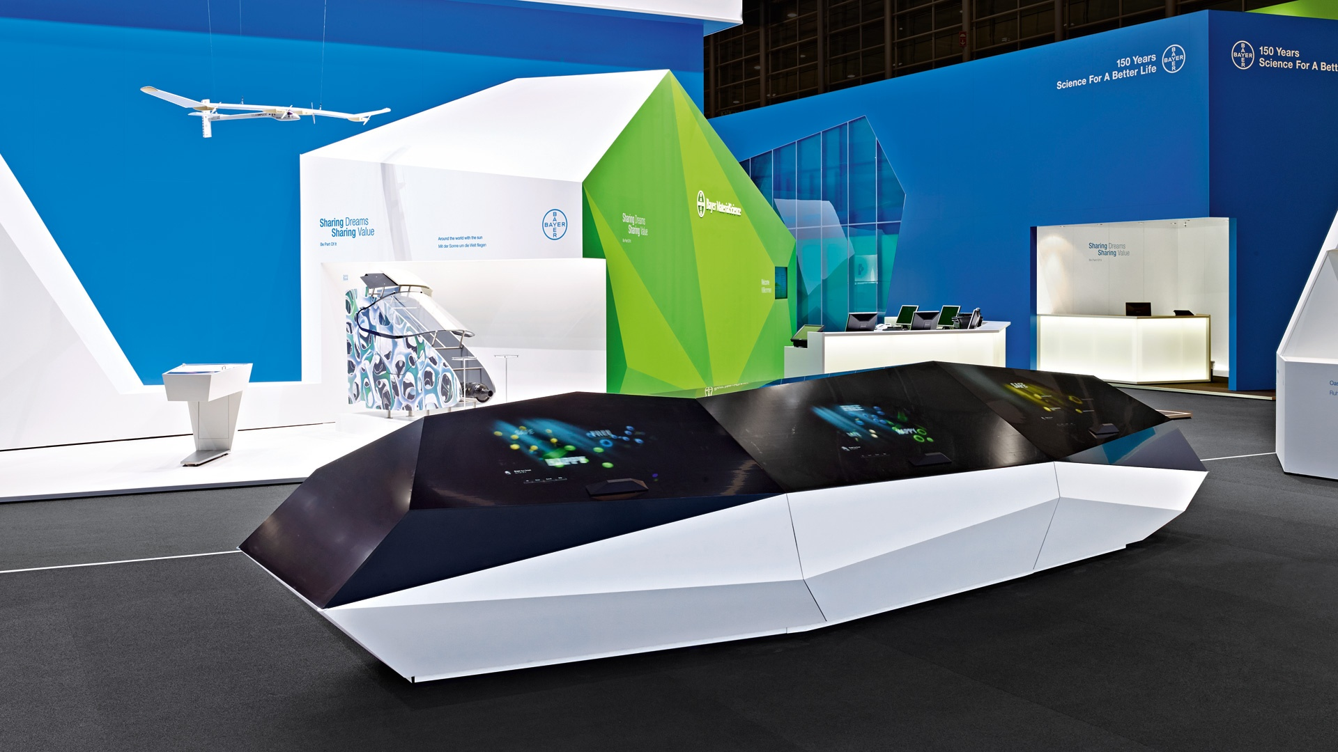 Bayer MaterialScience Messe K Sharing Dreams, Sharing Value