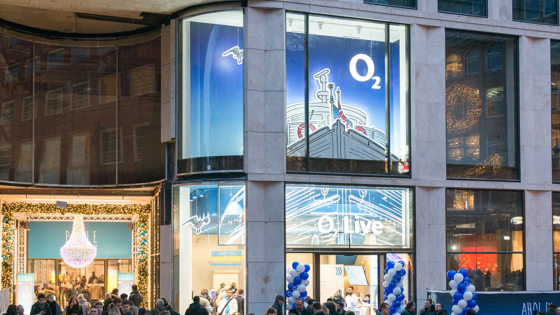 Openings o2 Live Stores