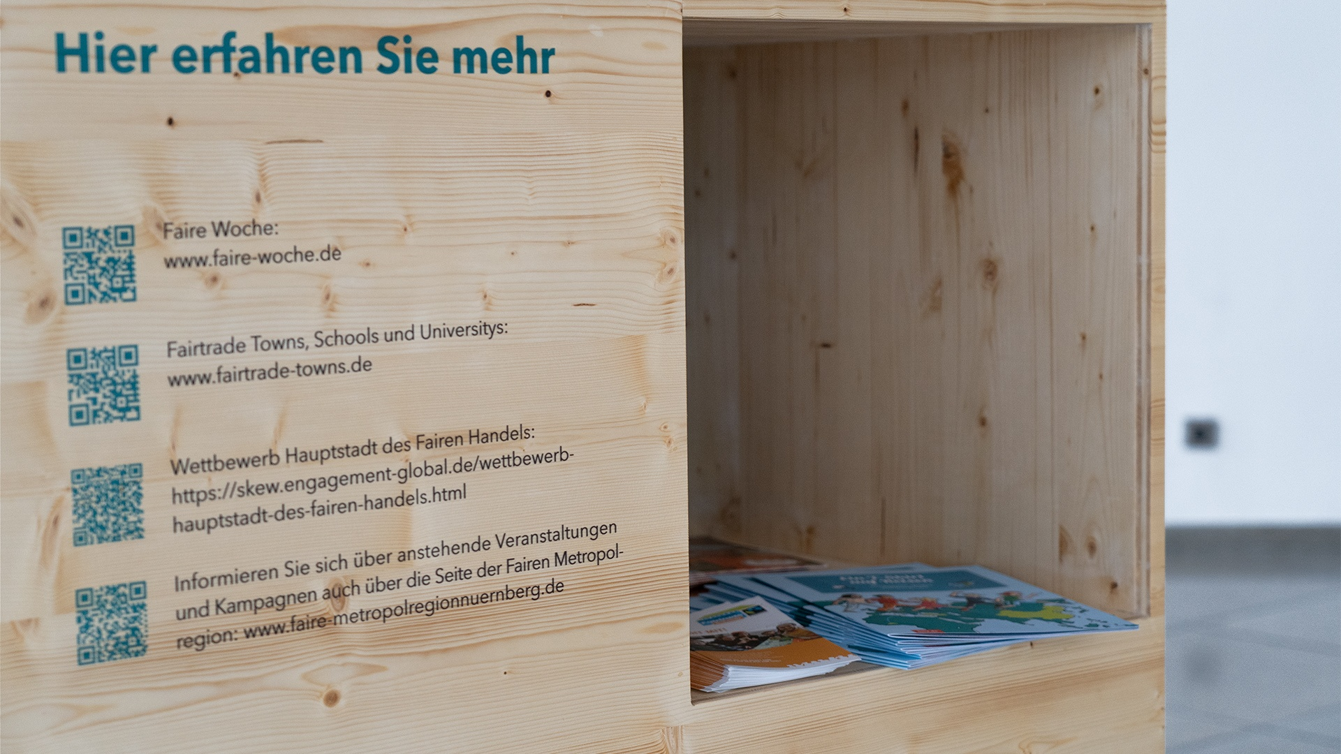 Pop-Up Wanderausstellung – Metropolregion Nürnberg