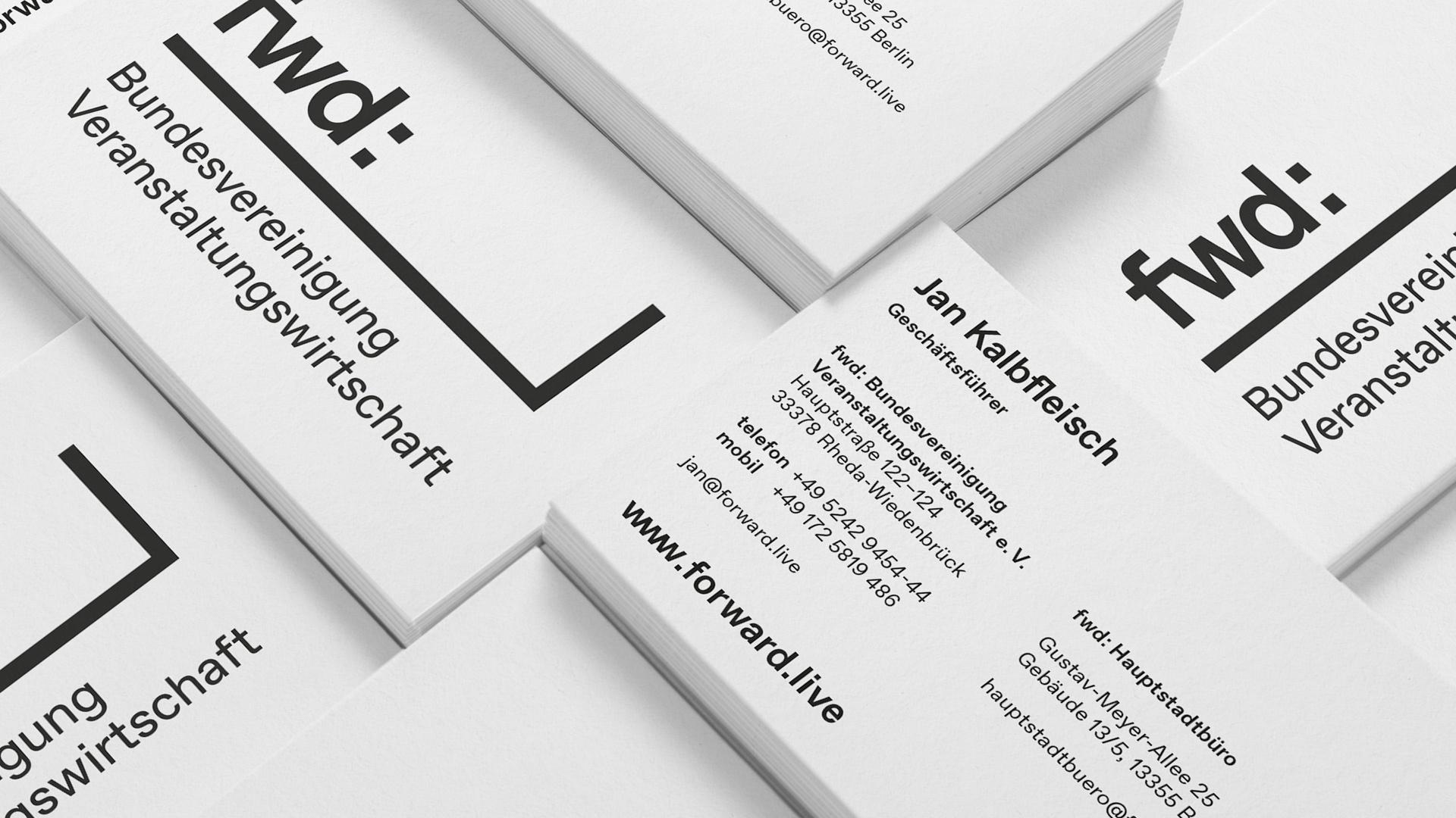 fwd: Bundesvereinigung Veranstaltungswirtschaft Visitenkarten
