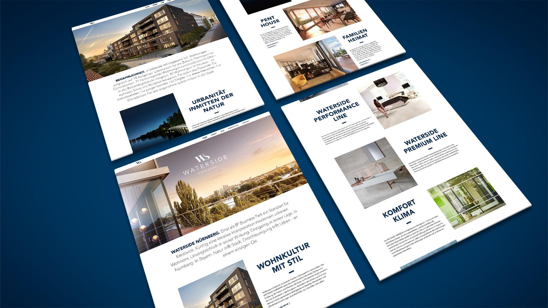 Immobilienprojekt Waterside Nürnberg