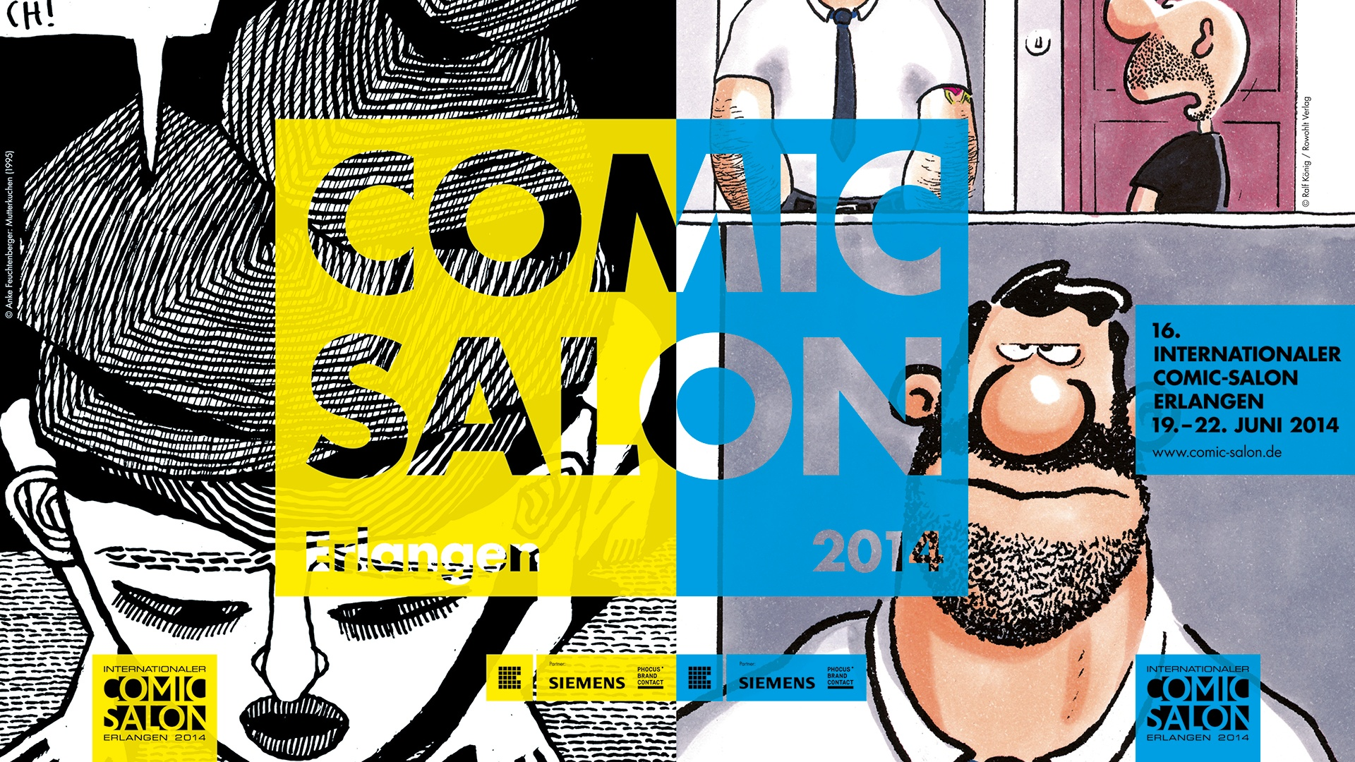 Corporate Design Comic-Salon Erlangen