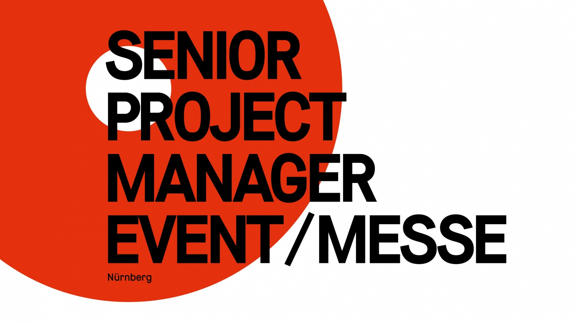 Senior Project Manager Event/Messe (m/w)