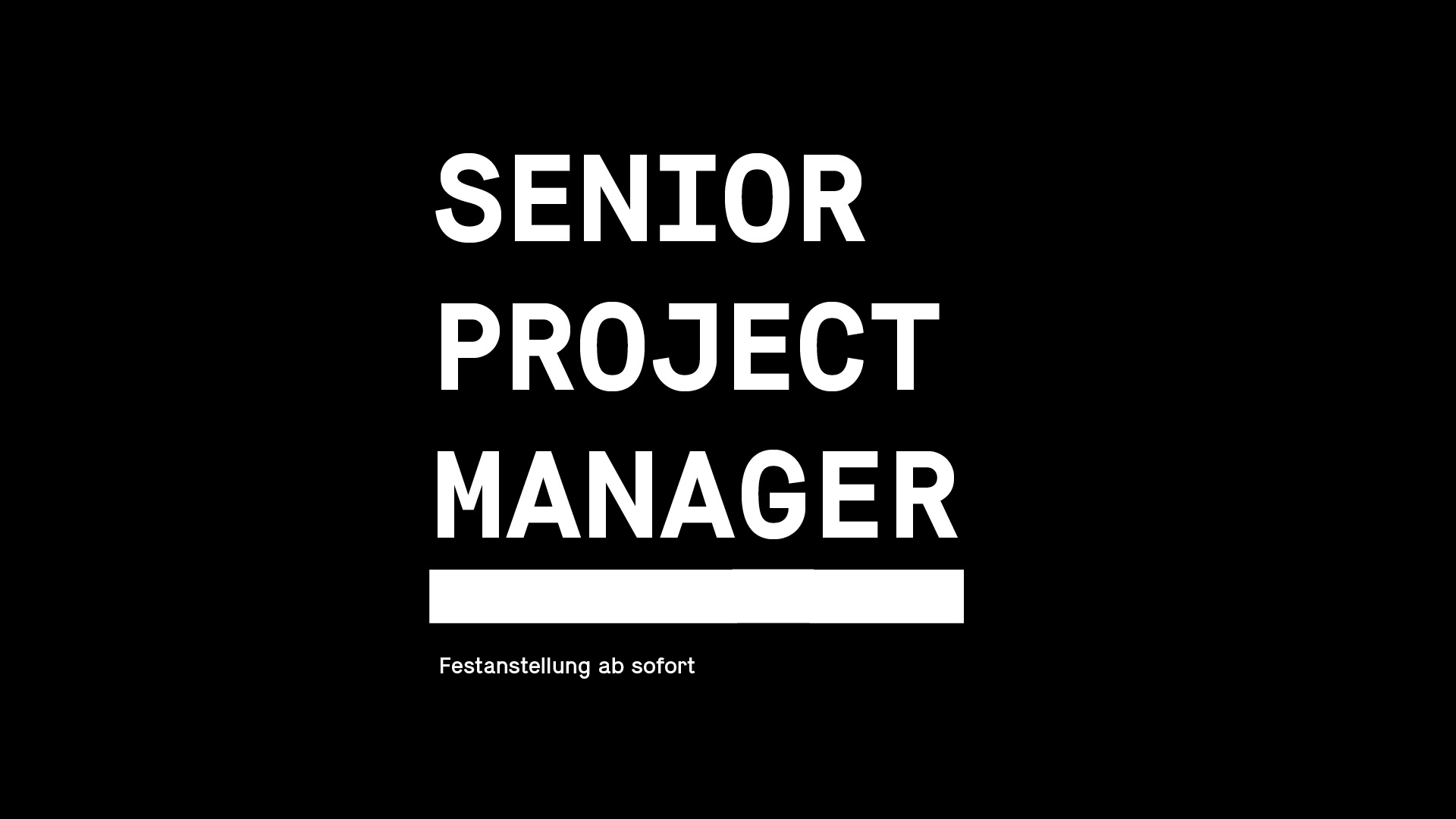 Senior Project Manager (m/w)