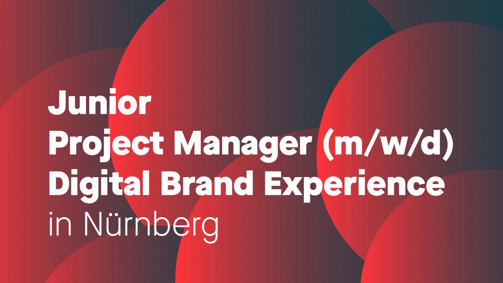 Junior Project Management Digital Brand Experience (m/w/d)