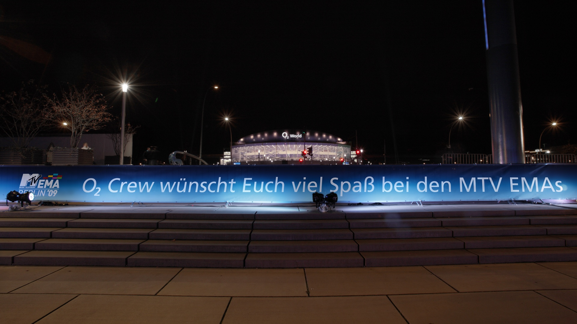 360° Kampagne MTV Sponsoring Event o2 World Berlin