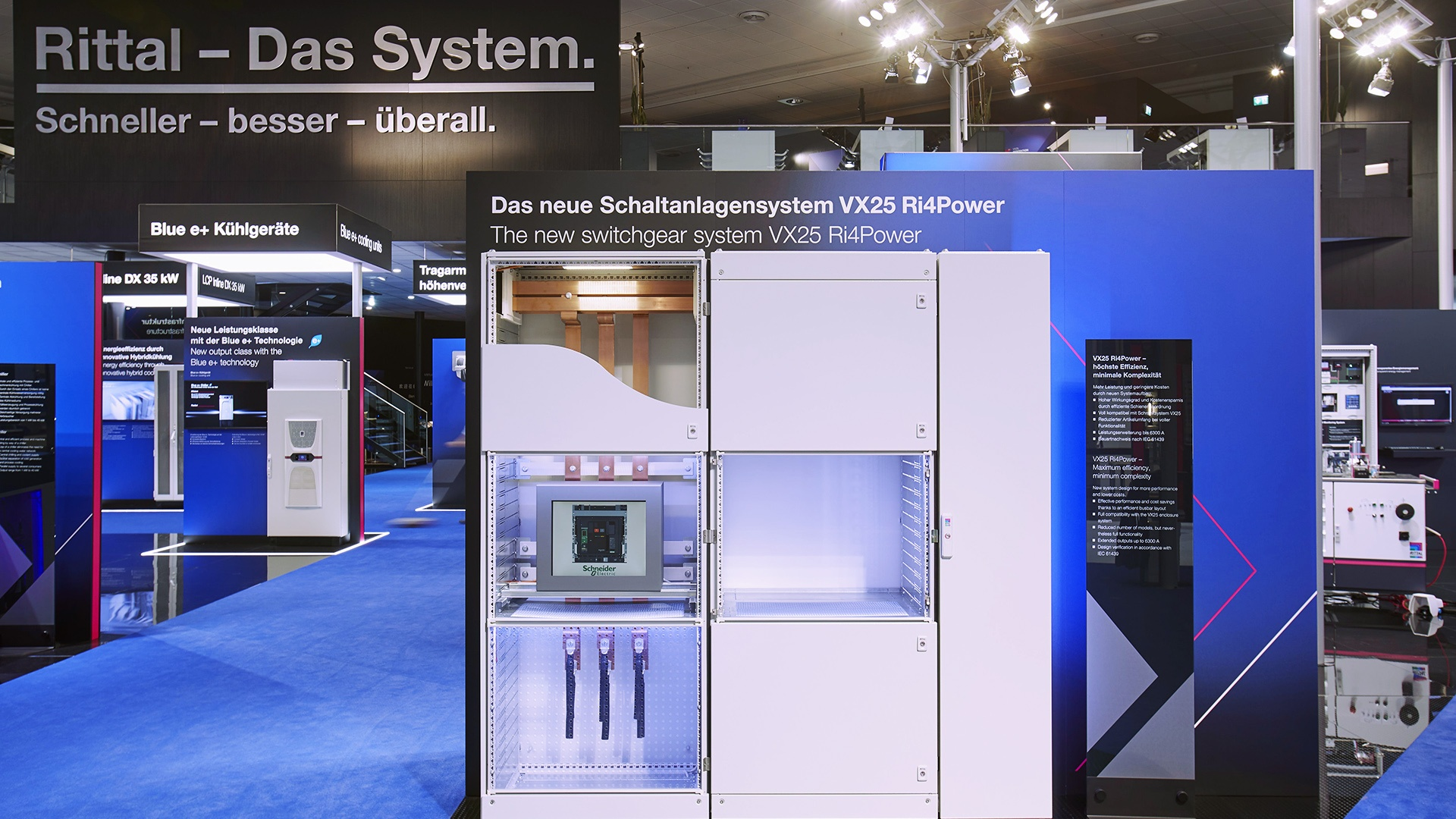 Rittal Messestand Hannover Messe