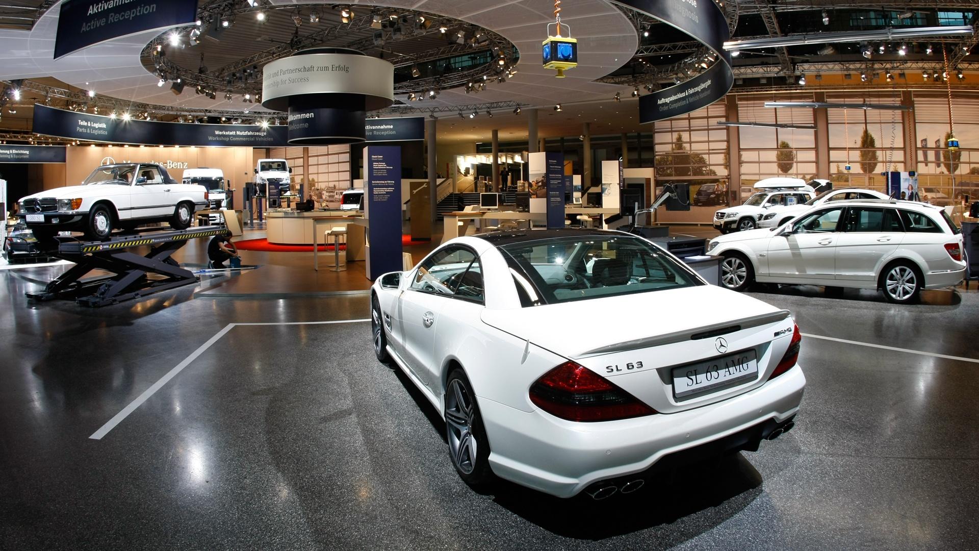 Daimler Messeauftritt Automechanika