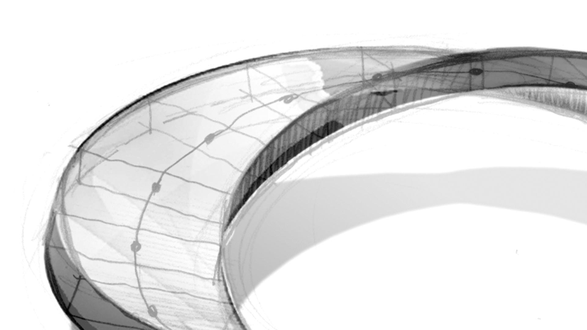Architektur Möbiusband Knauf