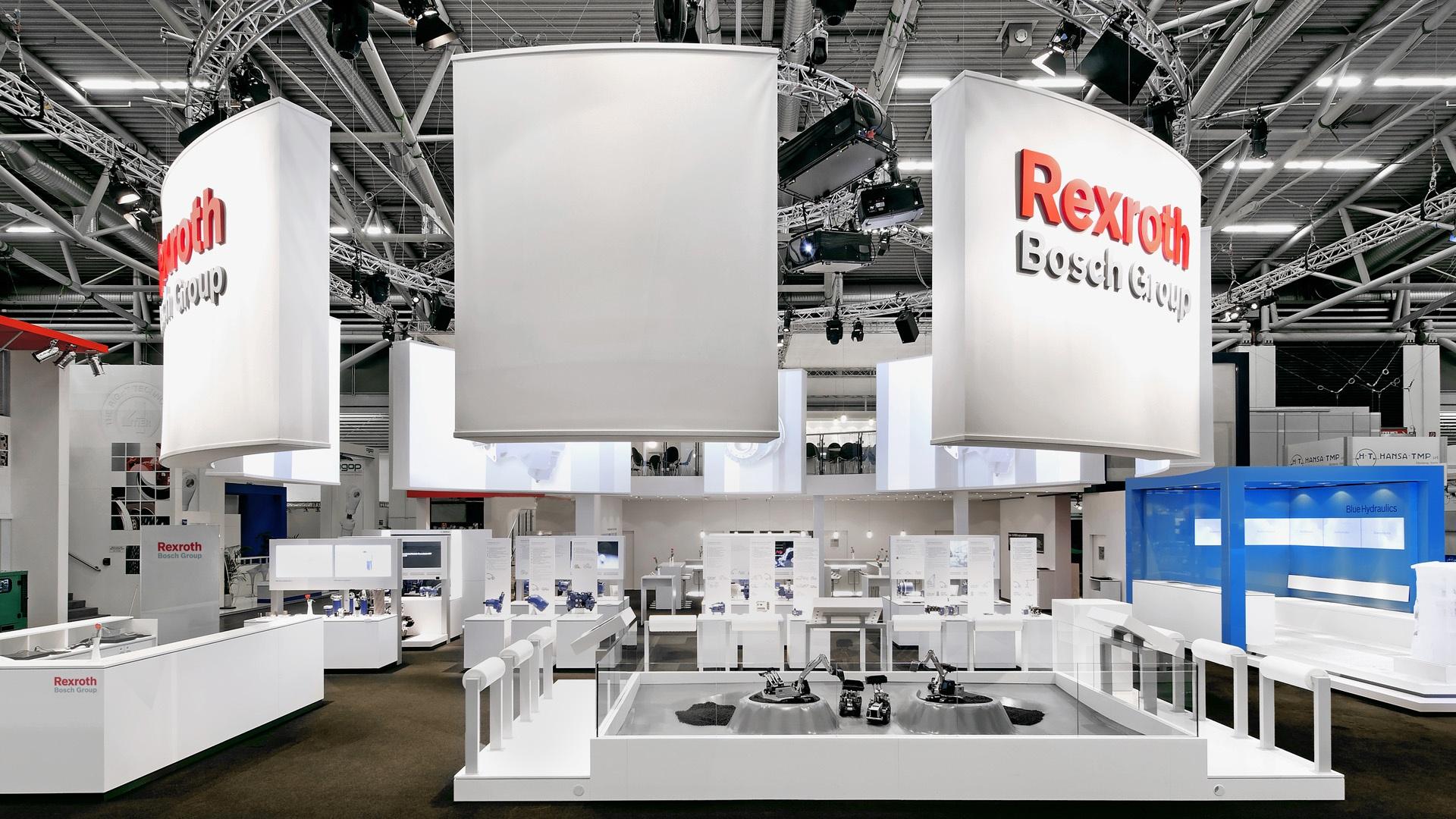 Architektur bauma München Bosch Rexroth