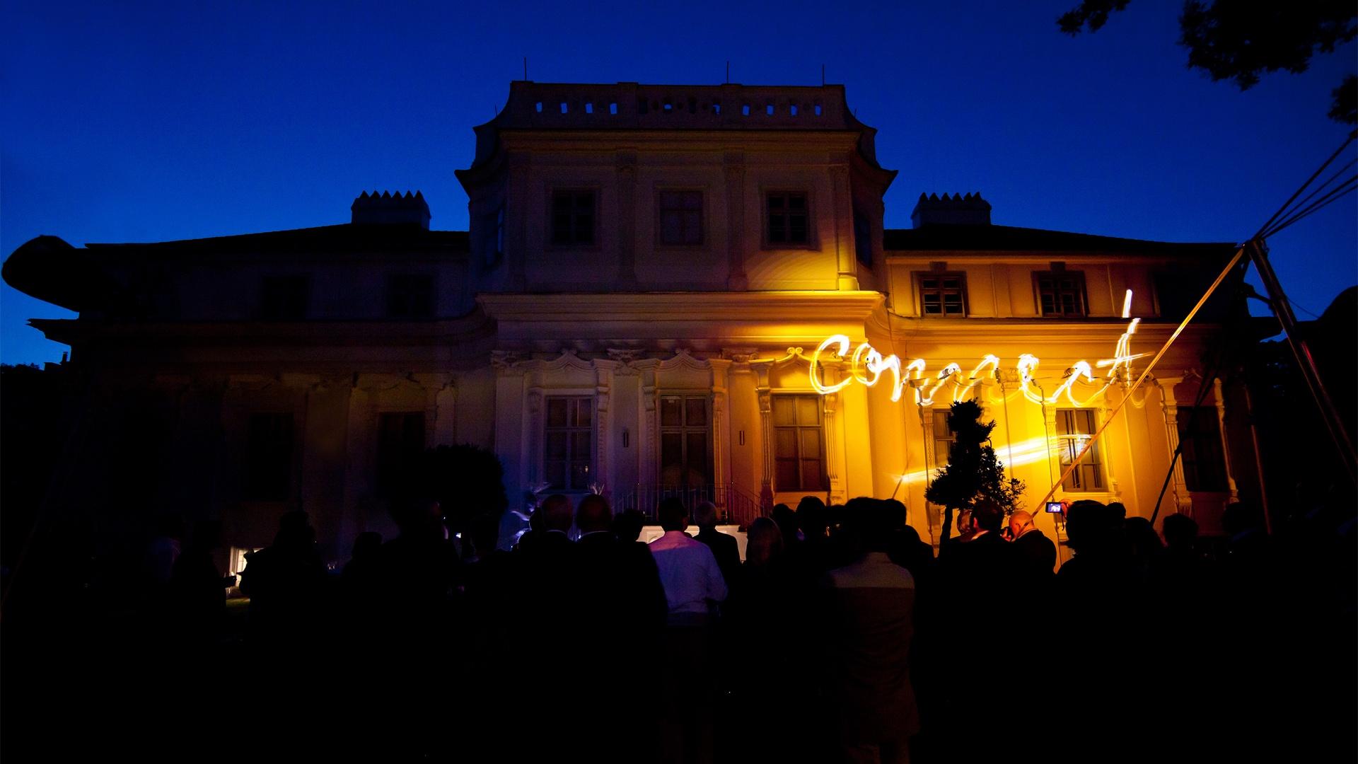 Siemens Directors' Club Wien Light Painting