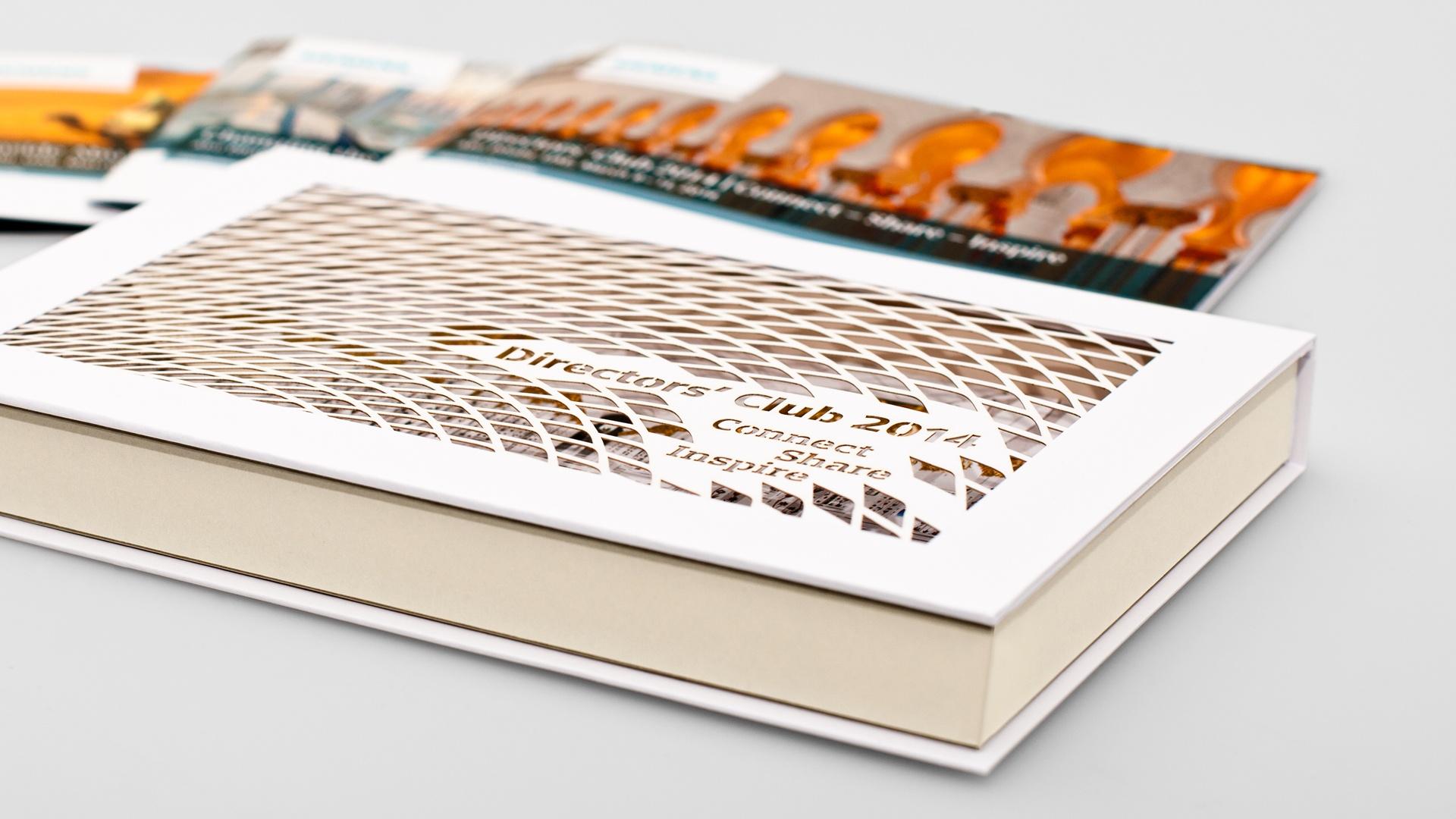 Siemens Directors' Club Editorial Design Abu Dhabi