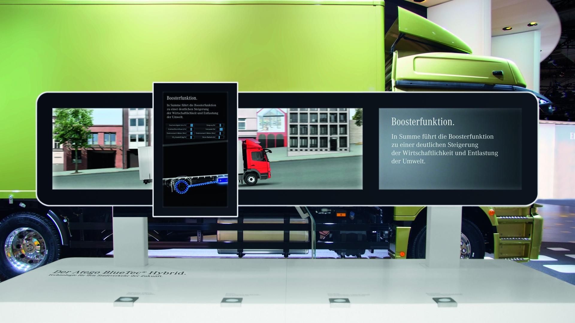 Interface Design IAA Daimler