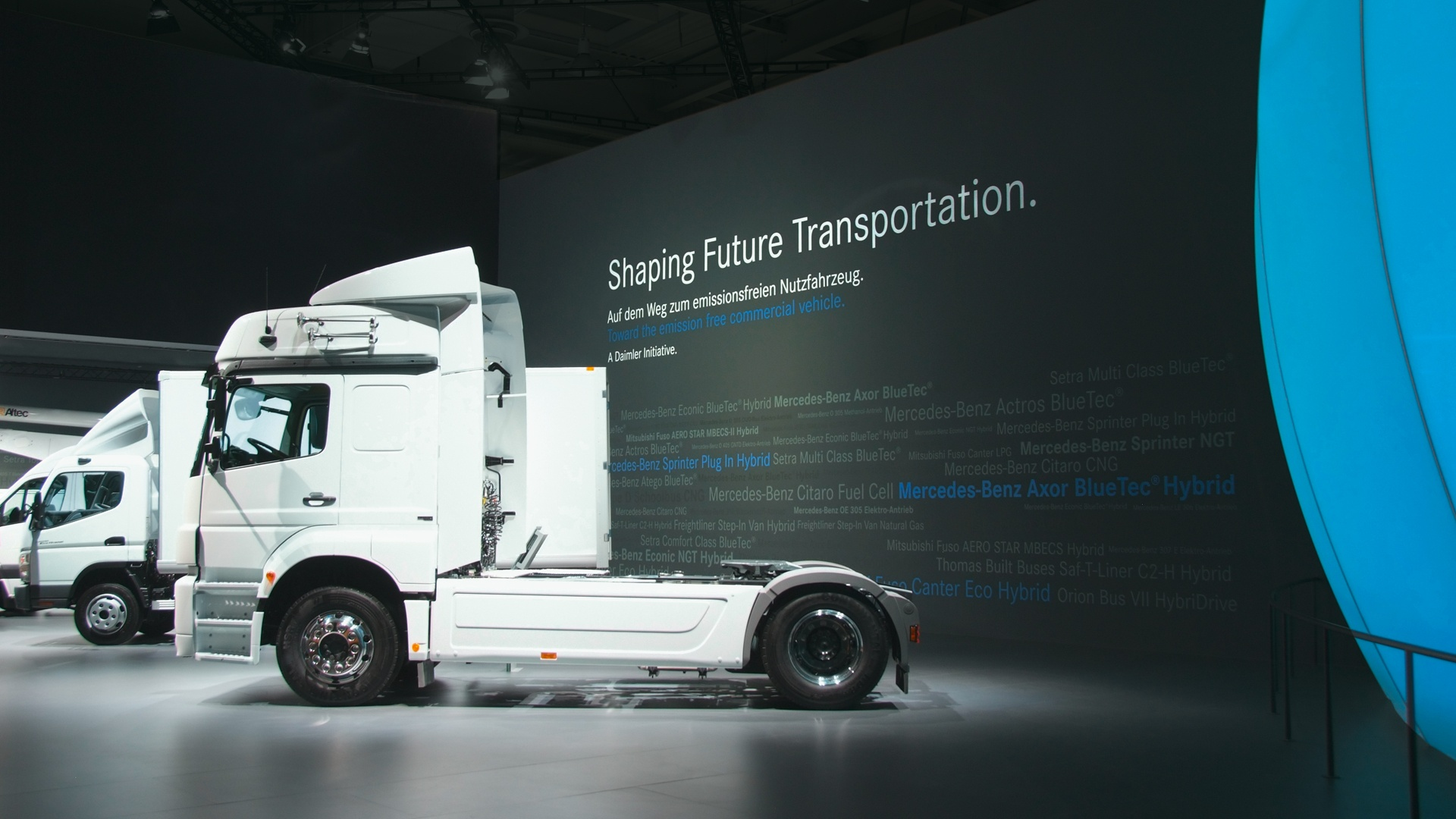 Messeauftritt IAA Nutzfahrzeuge Daimler 5