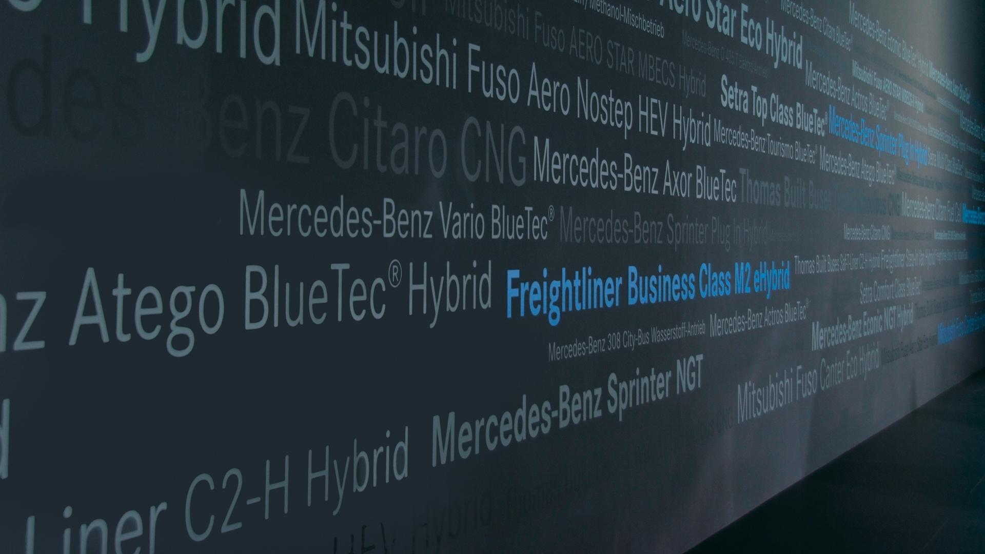 Typografie IAA Daimler