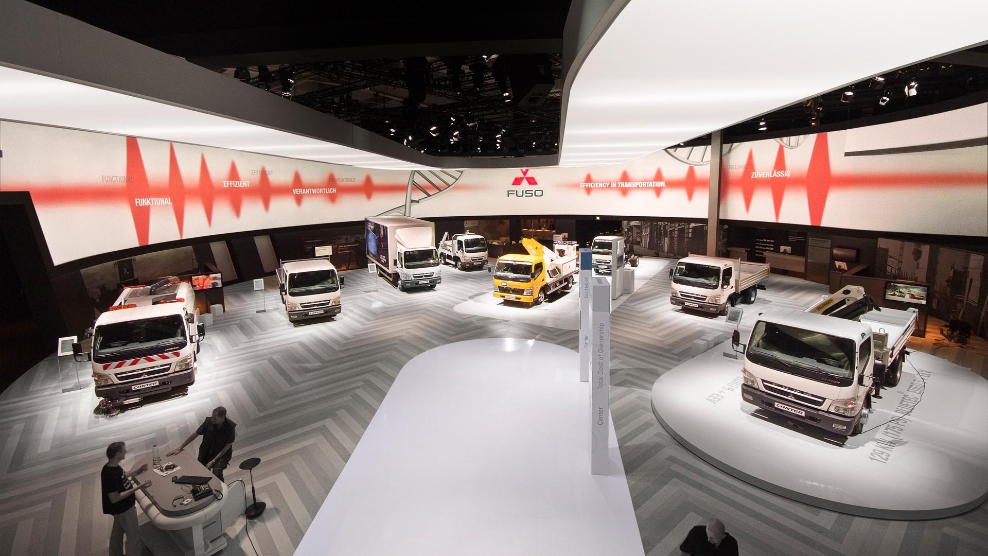 IAA Messeauftritt Mitsubishi Fuso