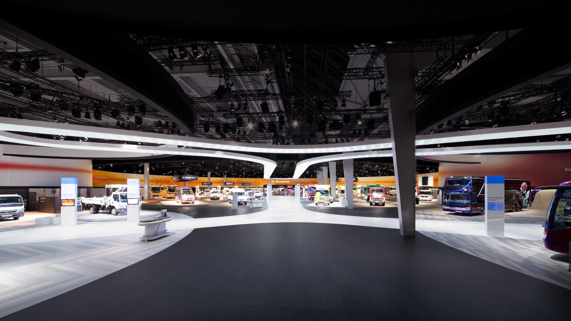 IAA Messeauftritt Daimler