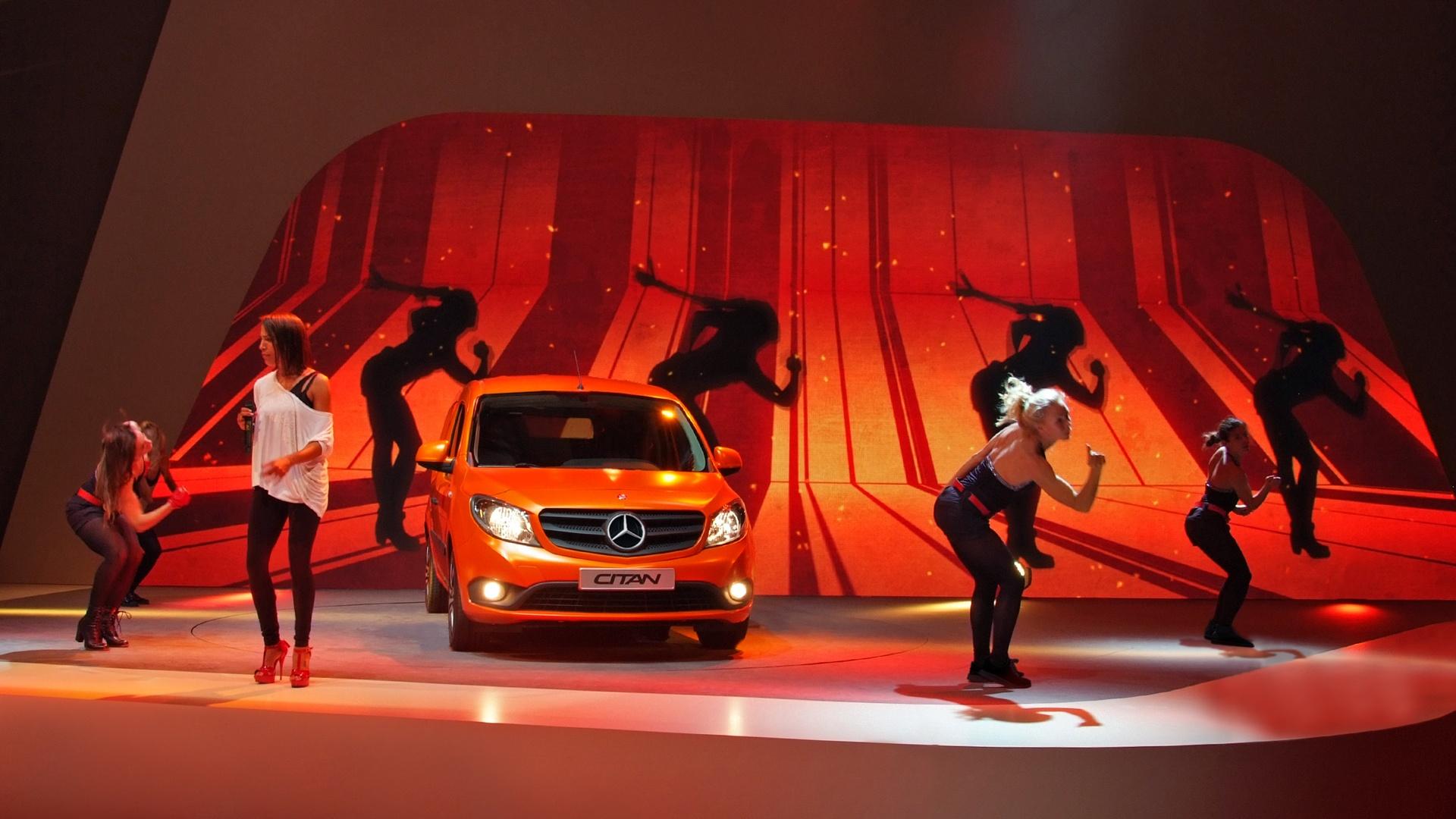 Daimler Citan Live Show Performance