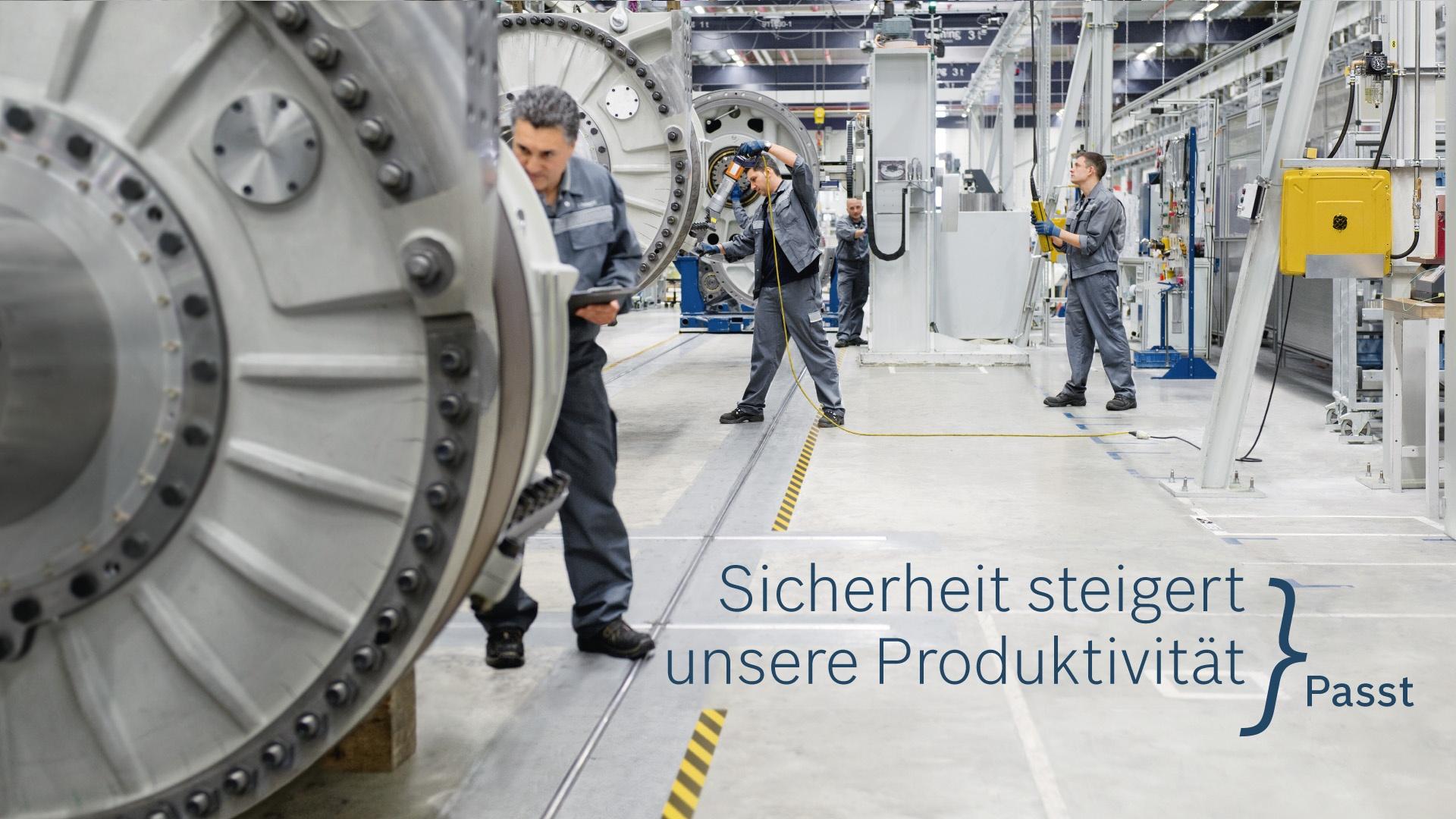 Passt Kampagne Anzeige Bosch Rexroth