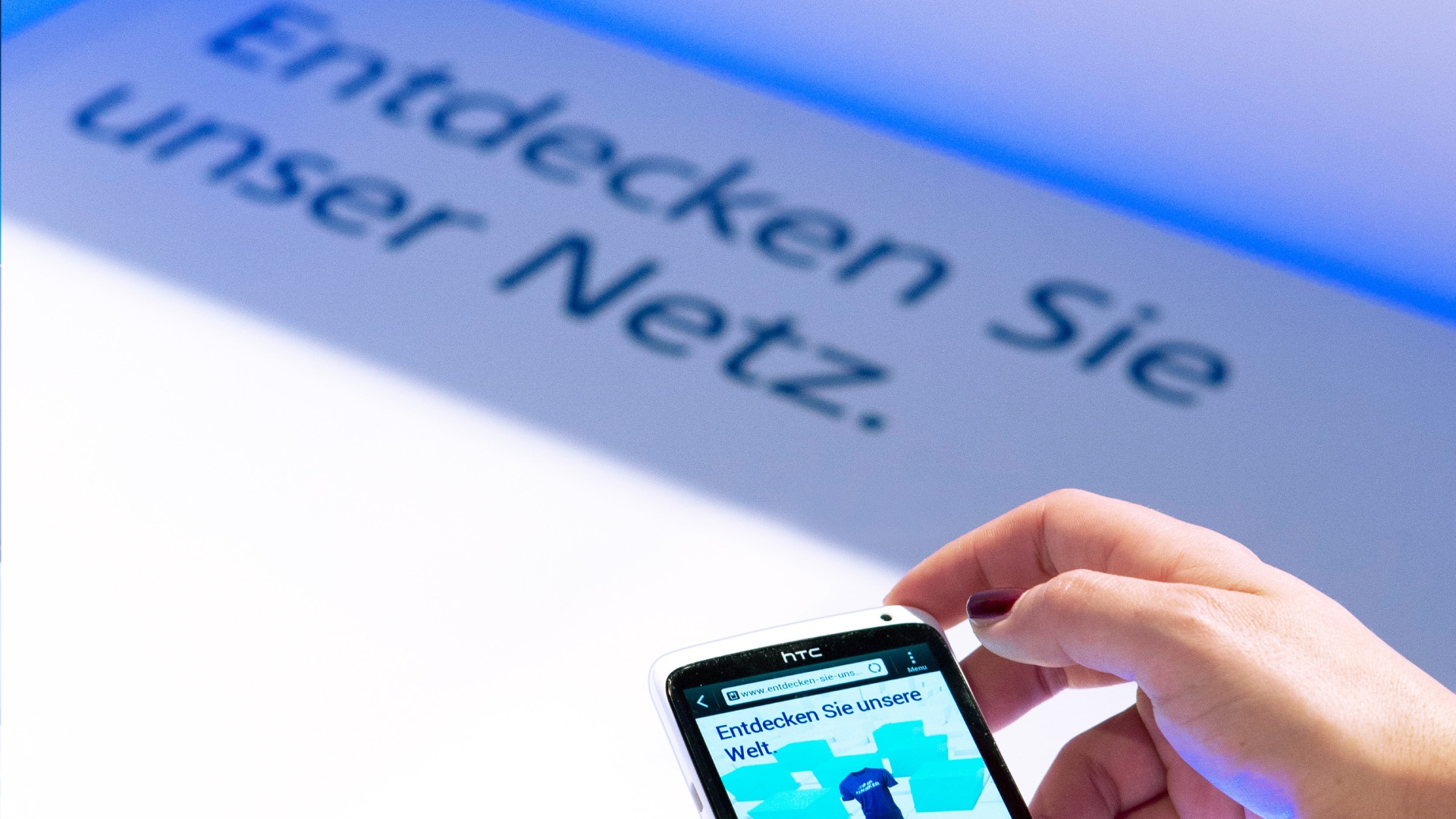 Telefónica Germany digitaler Raum NFC