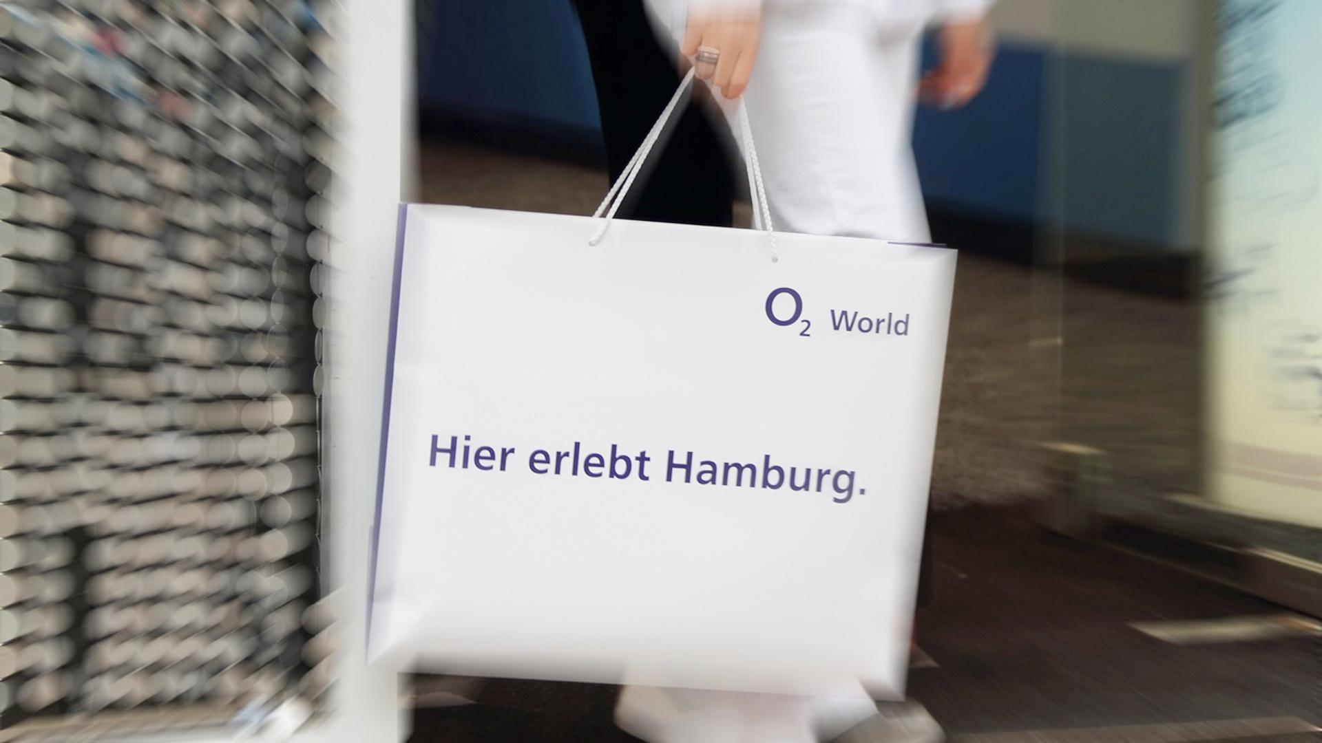 Promotion o2 World Hamburg