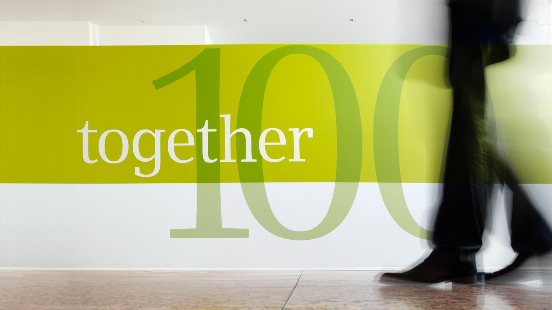 Typografie Siemens Business Conference