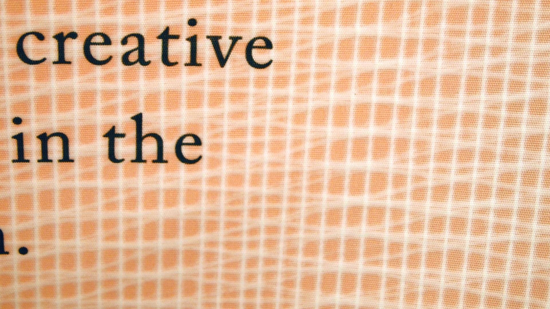 Typografie Ausstellungsdesign Second Chance