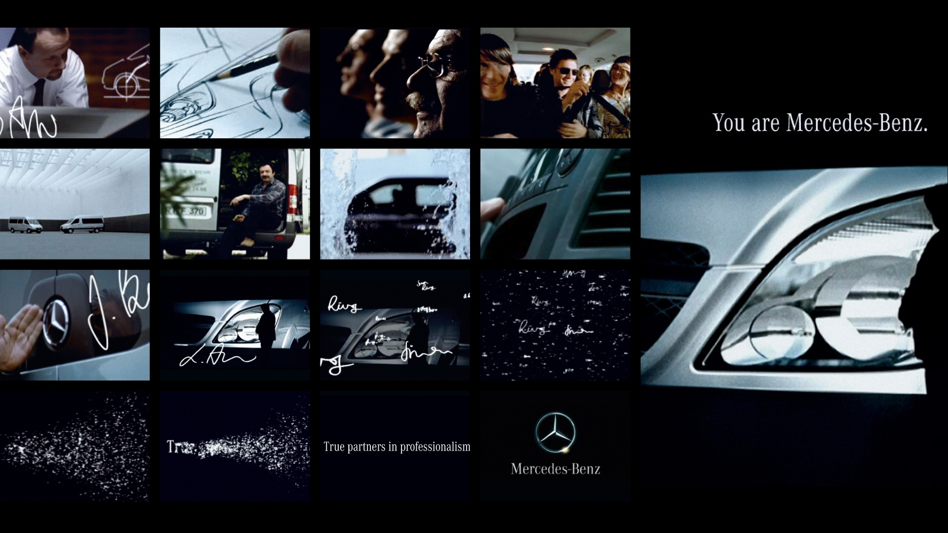 You are Mercedes Bildwelt