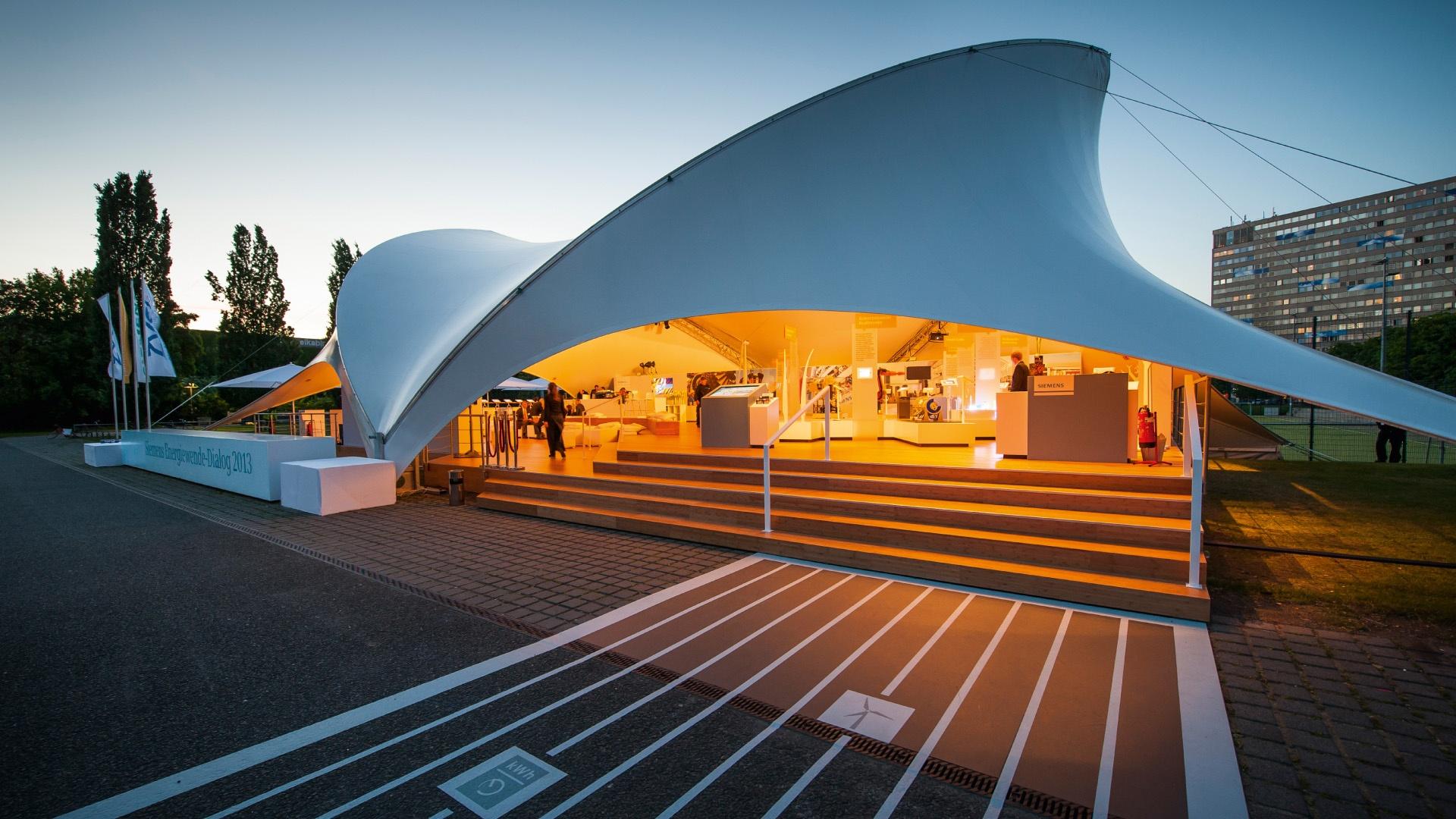Pavillon Siemens Energiewende